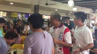 Zika outbreak: Masagos Zulkifli giving out educational pamphlets at Tampines