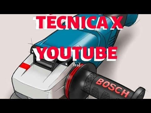 Amoladora Esmeril Bosch 7