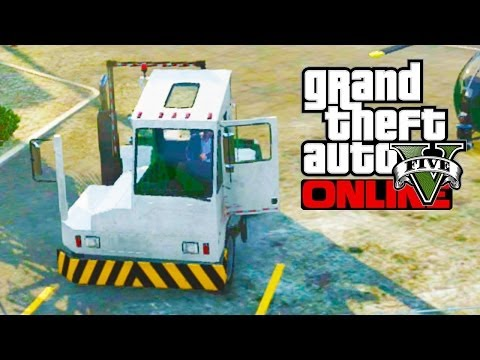"GTA 5 Secret Cars - ""Docktug"" (Bulletproof Truck) (GTA V Rare Cars)"