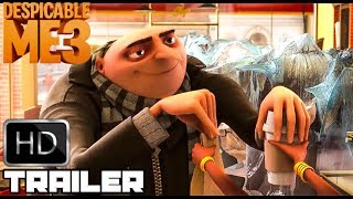Despicable Me 1 2 & 3 'Gru's Funniest Moments' (2017) Hilarious Animated Movie HD - Video Youtube