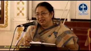 MOBA 36th Annual Conference at Parumala, Class by Prof Mary Mathew