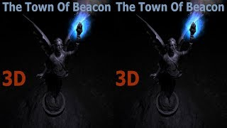 3D VR video 👽 3D TV VR box google cardboard The Town Of Beacon