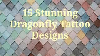 15 Stunning Dragonfly Tattoos