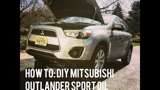 Very easy how to do the tune up for mitsubishi outlander sport 2011 how to change the oil on a mitsubishi outlander sport 2015 fandeluxe Gallery