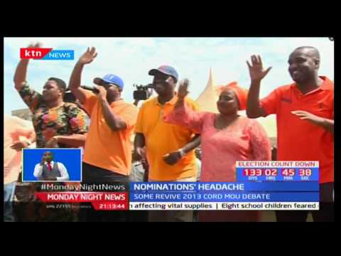 Wiper Party intensifies calls for its leader Kalonzo Musyoka to be NASA flagbearer