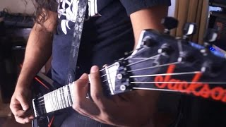 EXODUS blacklist  guitar - vocal cover