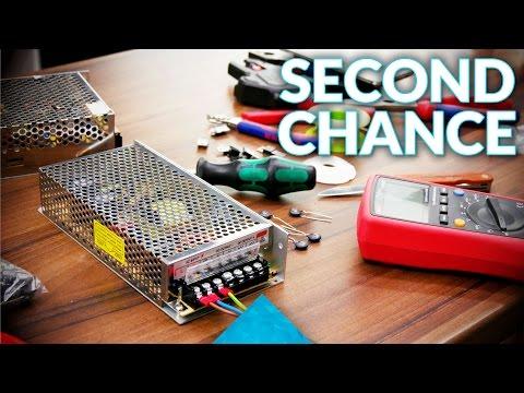 Repairing cheap power supplies!