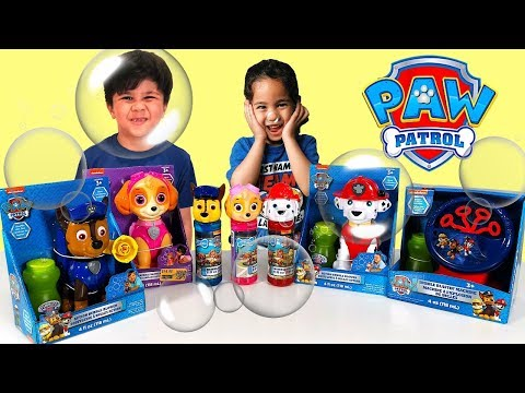 Paw Patrol Unboxing: Lookout Surprise w/ Fireman Marshall