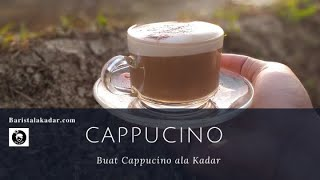 cara membuat manual brew cappuchino ala kadar