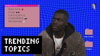 "Sheck Wes on Signing to Cactus Jack, ""Mo Bamba,"" and Talking Trash to James Harden 