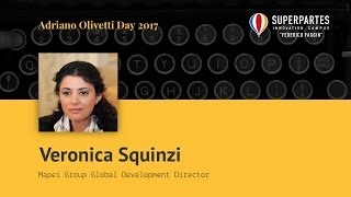 Intervento di Veronica Squinzi - Global Development Director di Mapei Group
