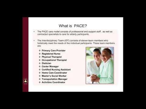 Cherokee Elder Care's PACE - YouTube