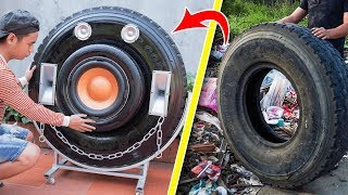 recycle-tire-from-landfill-into-giant-bluetooth-speaker