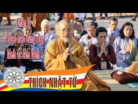Vấn đáp: Chân lý về đạo nào cũng dạy lánh ác làm lành (06/2005) Thích Nhật Từ