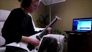 Children of Bodom - Ugly (guitar solo - cover)