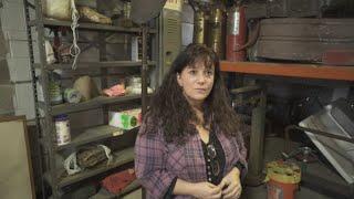 Kathryn Thoman Of Recyclean/Architectural Salvage Kenosha On Deconstruction