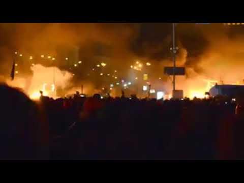 Майдан Гімн України лютий 2014.