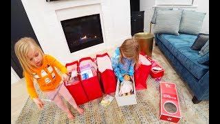 Школа для Николь и Новые наряды Мама в Шоке Влог Самый обычный день Unboxing Doll American Girl