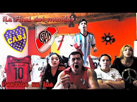 Boca 2 River 2 | Copa Libertadores | Final - Ida | Reacciones de Amigos