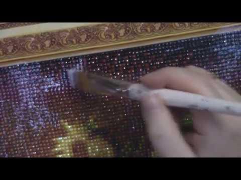 """Готовая алмазная мозаика""""Подсолнухи""""\Покрытие акриловым лаком\Что случится с алмазной вышивкой ?"""