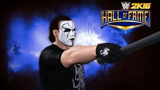 WWE 2K16: Sting 2016 Hall of Fame Promo