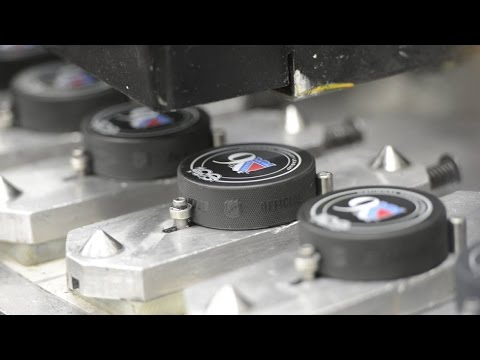 Canada 150: How hockey pucks are made