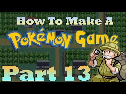 How To Make a Pokemon Game in RPG Maker - Part 13: Region Map and Flying