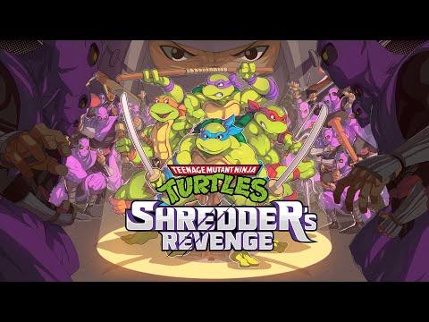 Trailer d'annonce de Teenage Mutant Ninja Turtles: Shredder's Revenge