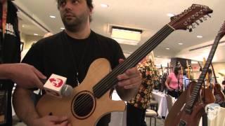 Montreal Guitar Show '11 PMC Guitars