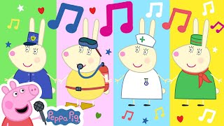 Peppa Pig Official Channel 🌟 Busy Miss Rabbit  🎵 Peppa Pig My First Album 14#