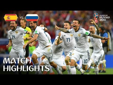 Spain v Russia - 2018 FIFA World Cup Russia™ - Match 51 (видео)