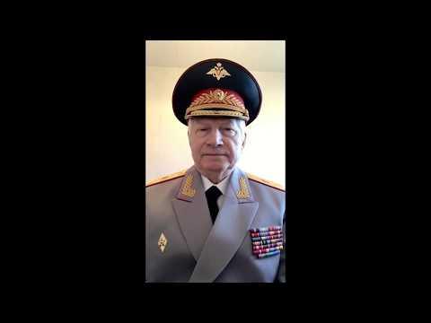 Поздравление генерал-майора Виталия Шамшиевича Алеева с 75-летием Победы