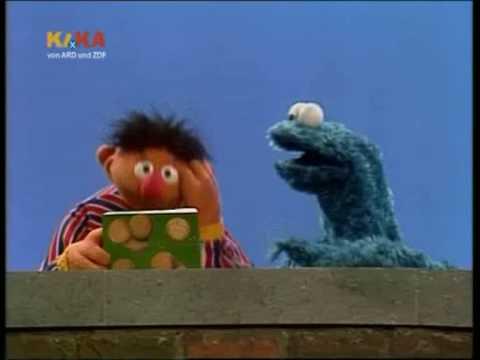Sesamstrasse - Ernie will Kekse zählen
