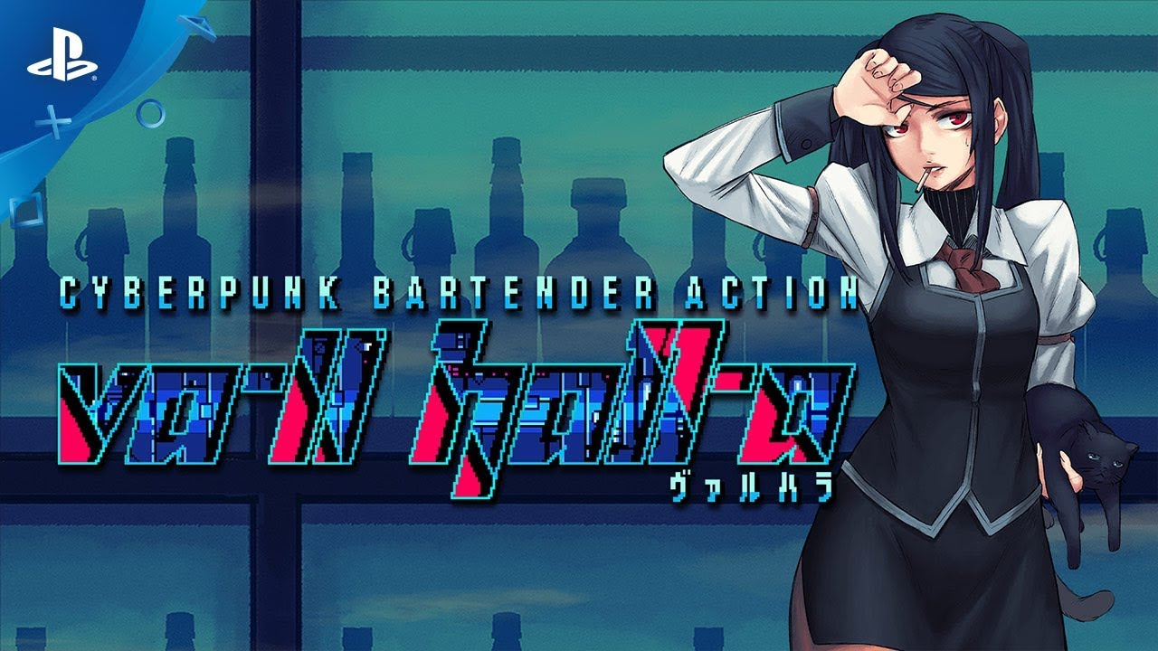 VA-11 Hall-A Serves Up Drinks on PS4 May 2