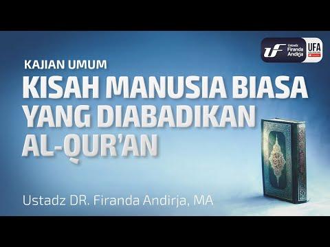 Kisah Manusia Biasa Yang Diabadikan Al-Quran