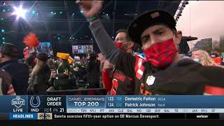 Roger Goodell Gets Booed By Cleveland | 2021 NFL Draft