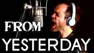 30 Seconds To Mars - From Yesterday - cover - Gaston Jauregui - Ken Tamplin Vocal Academy