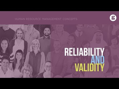 Reliability and Validity - YouTube