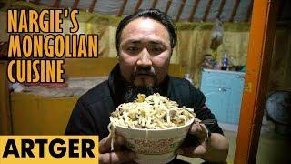 Nargie's Mongolian Cuisine: TSUIVAN (Most Popular Mongolian Dish)