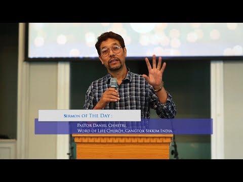 Pastor  Daniel Chhetri :  Faith Activates the Anointing.