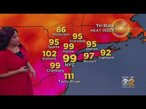New York Weather: 7/17 Wednesday Noon Forecast
