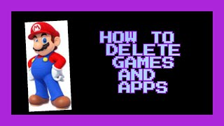 How to Delete Games And Apps On A Nintendo 3ds - Barrelplayz