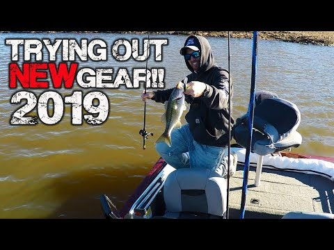 First bass of 2019 and new Piscifun gear review!