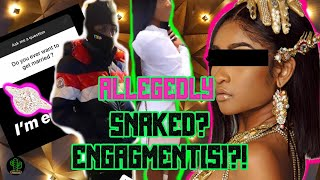 Nba Yb New gf Y0ung Lyr!c spills tea in private group chat  Another YB Gf Claims they are engaged!?