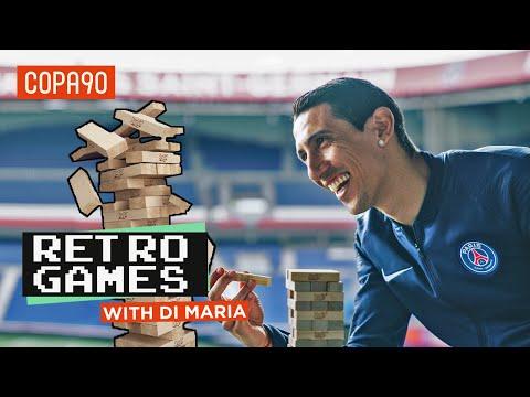 Retro Games With...Angel Di Maria