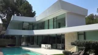 Вилла класса люкс в городе Altea Испания. Новые Хай-Тек дома на побережье для продажи и аренды