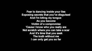 Linkin Park - White Noise [Terrified] (Lyric Video)