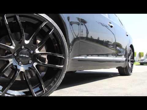 Lexus LS 600hL with WL036 Lorenzo Wheels