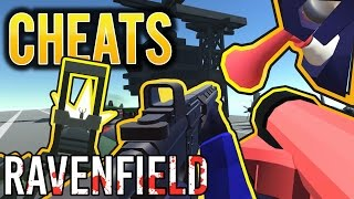 RAVENFIELD BETA 6 SECRET WEAPONS CHEAT HACK PATRIOT HYDRA HMG AIR HORN | EARLY ACCESS STEAM