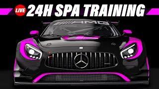 3. Training für die 24 Stunden von Spa am 20.10. | Assetto Corsa Gameplay German